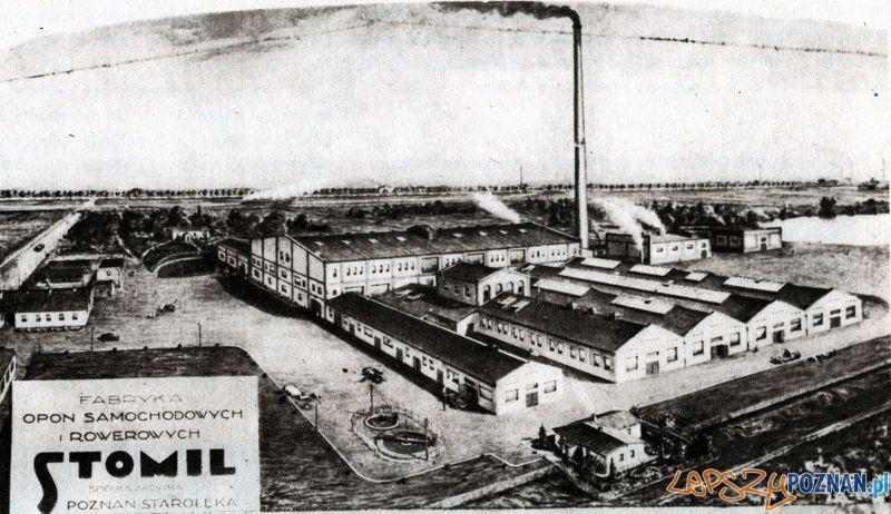 STAROŁĘCKA 18_ STOMIL  Foto: Muzeum Narodowe w Poznaniu, wystawa Miejska ikonosfera na drukach reklamowych z widokami Poznania 18