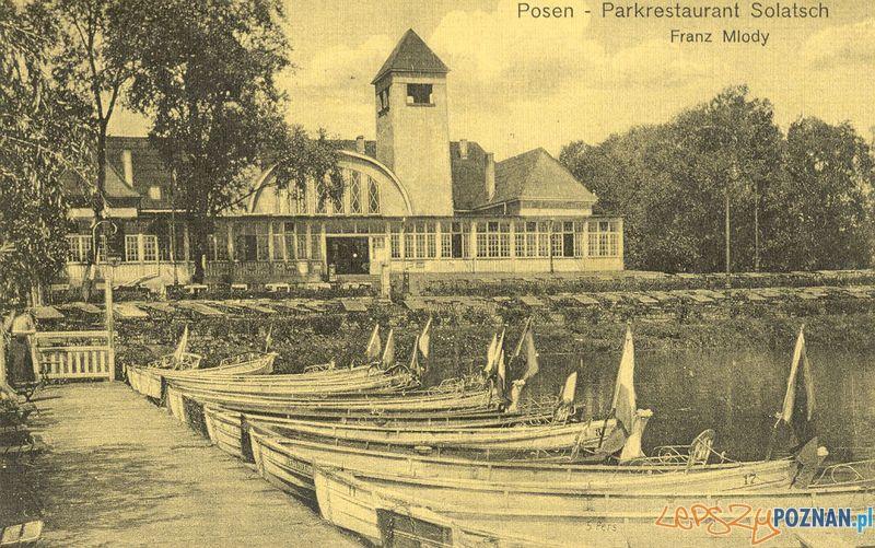 Sołacz Litewska 22  Foto: Muzeum Narodowe w Poznaniu, wystawa Miejska ikonosfera na drukach reklamowych z widokami Poznania 18