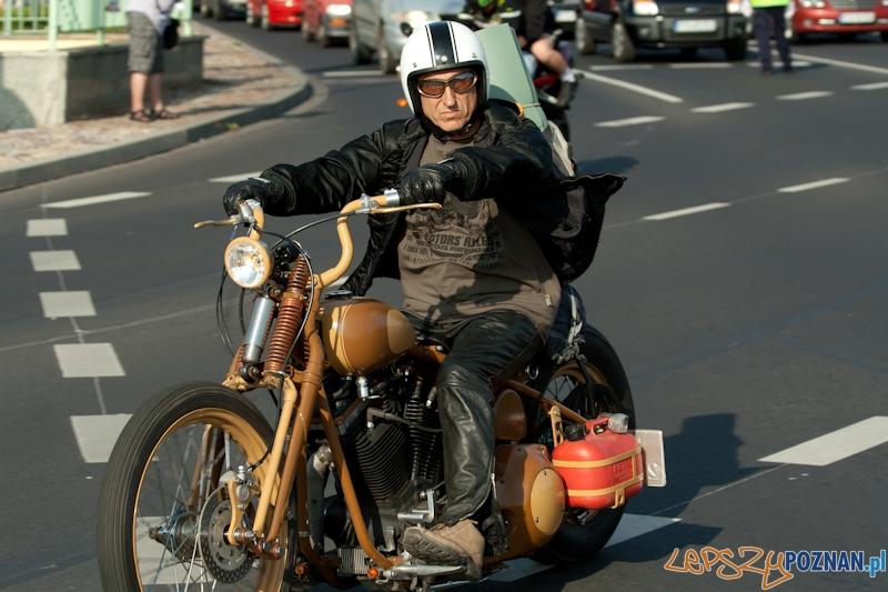 Zlot miłośników marki Harley-Davidson 2012 r  Foto: Ewelina Gutowska