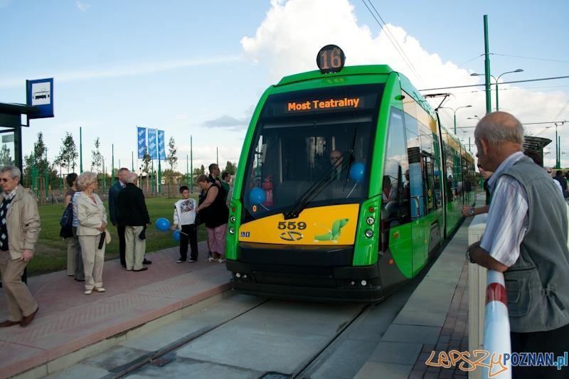 Otwarcie nowej trasy tramwajowej na Franowo 11.08.2012  Foto: lepszyPOZNAN.pl / Ewelina Gutowska
