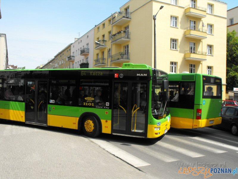 Autobusy na Łazarzu  Foto: lazarz.pl
