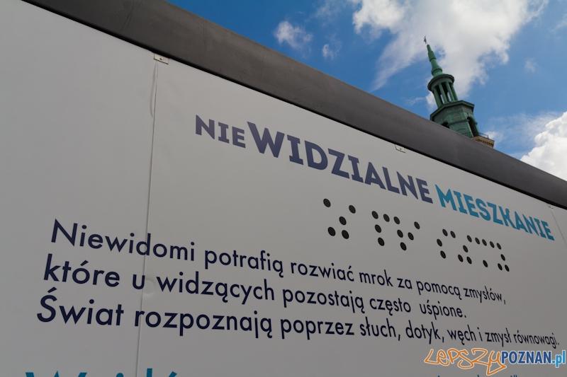 """""""Niewidzialne Mieszkanie""""  Foto: lepszyPOZNAN.pl / Piotr Rychter"""