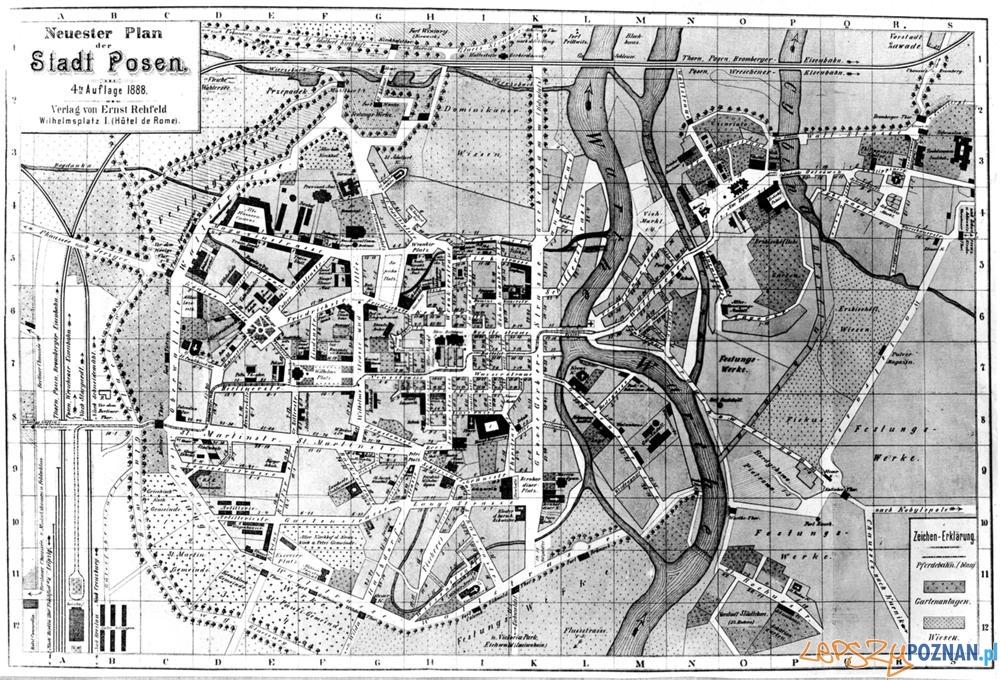 Poznań_1888r.  Foto: poznan.wikia.com