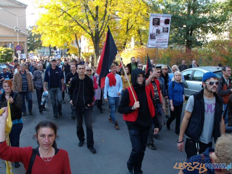 Demonstracja lokatorska  Foto: lazarz.pl