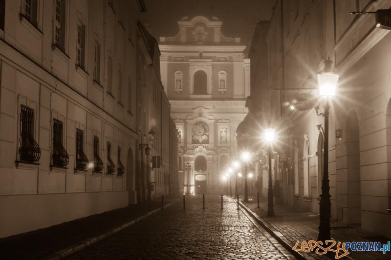 Mgła w Poznaniu - Świętosławska  Foto: lepszyPOZNAN.pl / Piotr Rychter