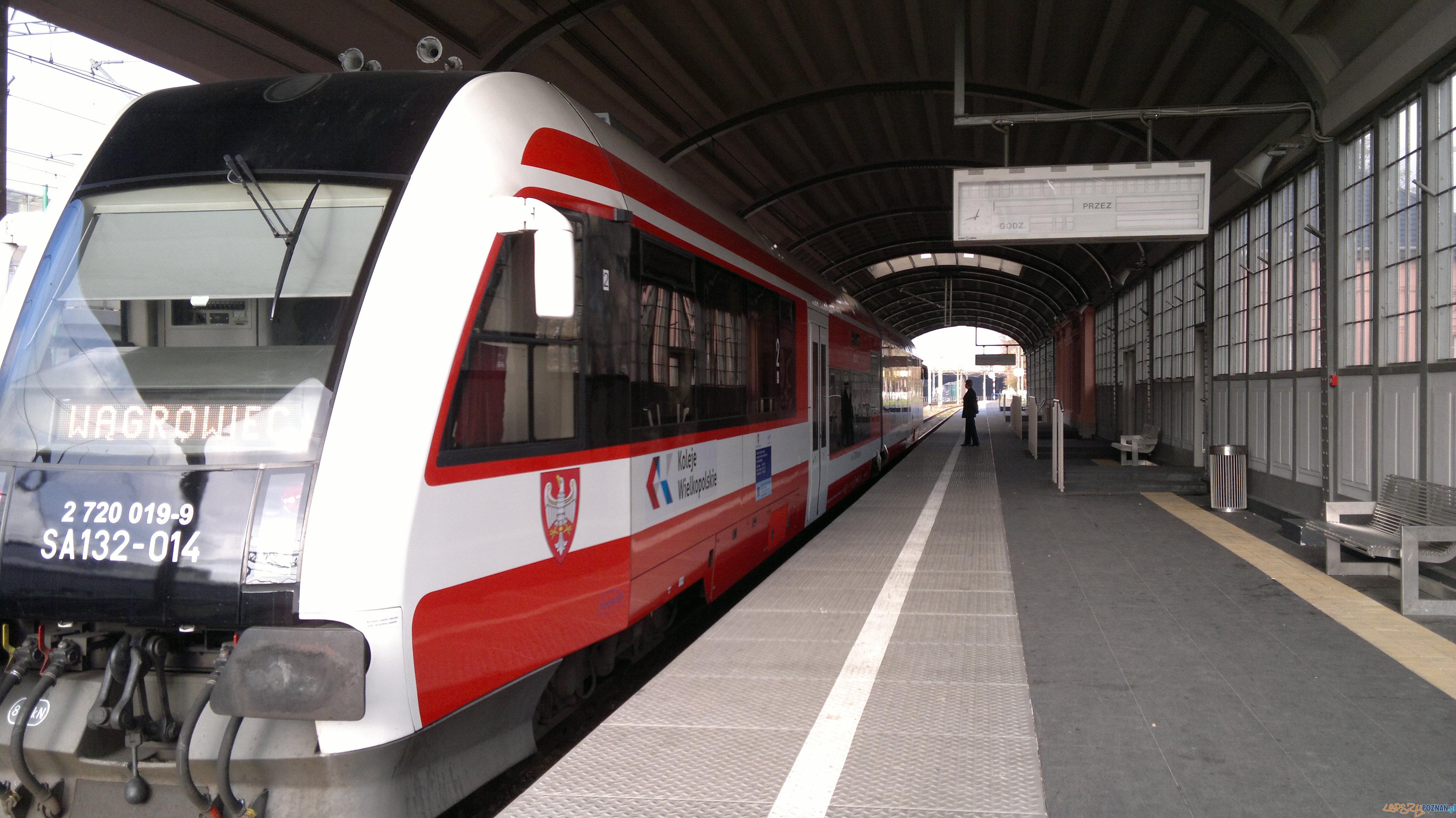 Koleje Wielkopolskie  Foto: TD