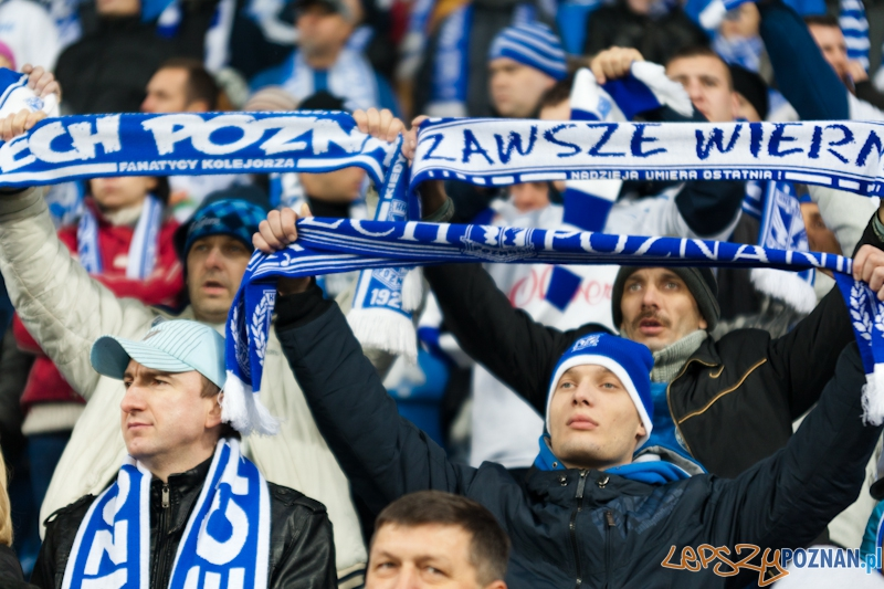 KKS Lech Poznań - Legia Warszawa  Foto: Anna Bernard