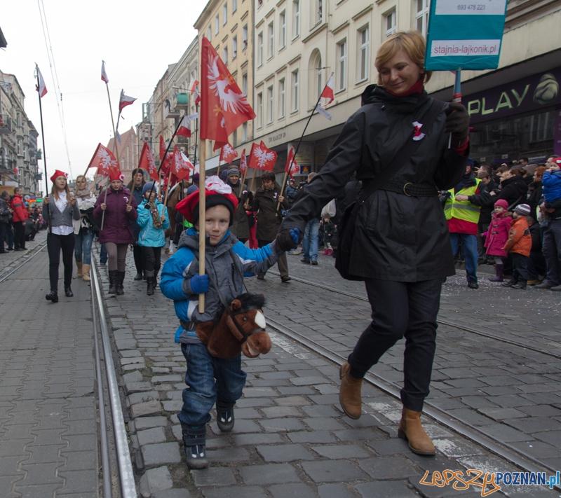 Imieniny ulicy Święty Marcin - 11.11.2012 r.  Foto: lepszyPOZNAN.pl / Piotr Rychter