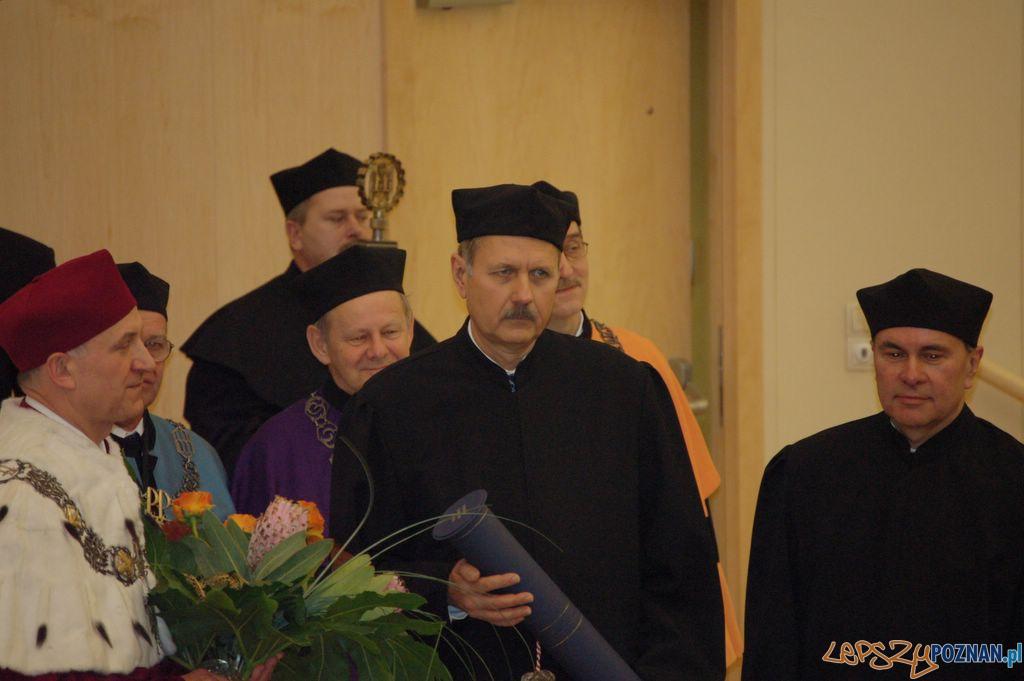 Doktorat honoris causa dla profesora Jana Węglarza