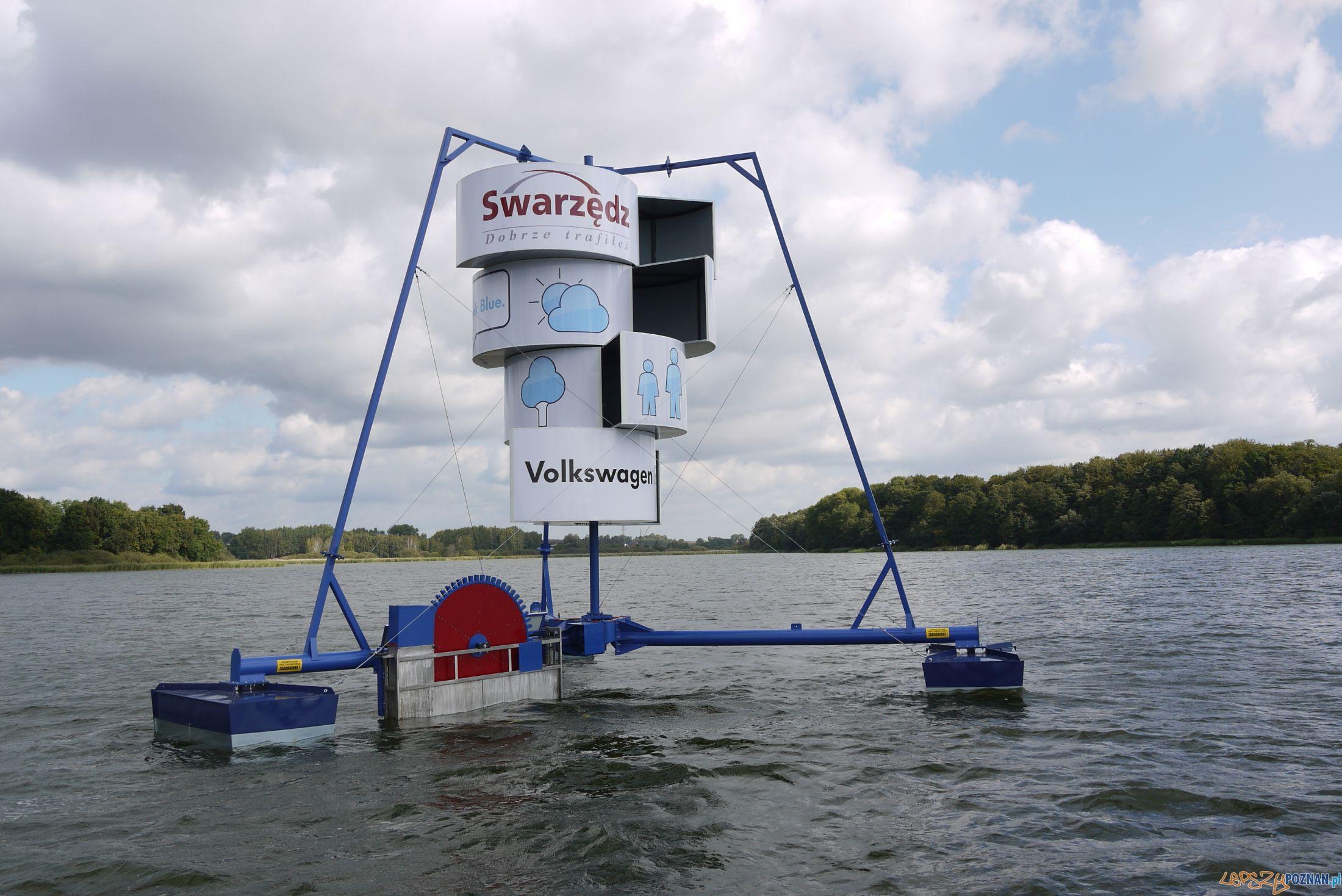 Aerator na Jeziorze Swarzędzkim  Foto: materiały UMiG w Swarzędzu
