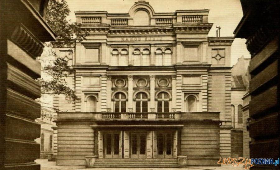 Teatr Polski w Poznaniu XIX w  Foto: