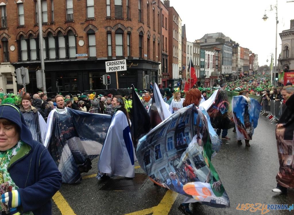 Poznań na paradzie w Dublinie   Foto:  Urząd Miasta Poznania 2013