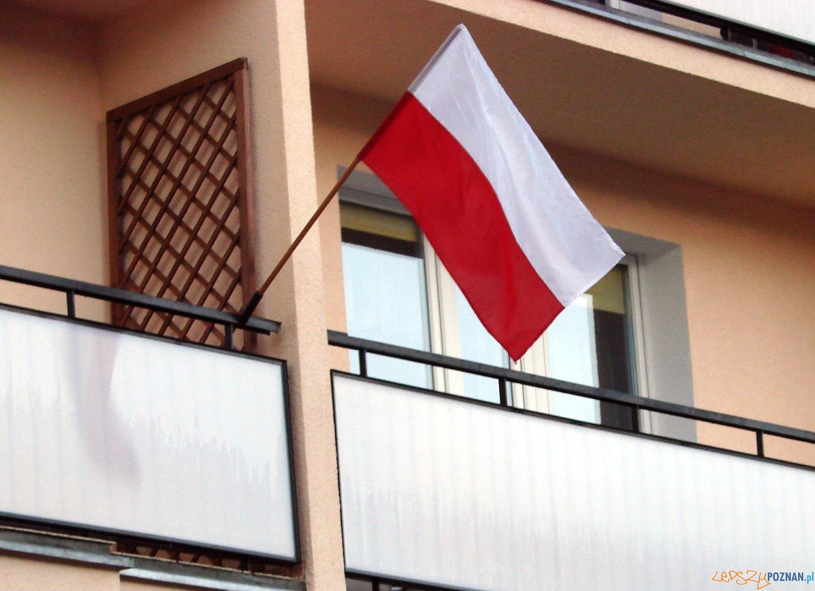 Flaga narodowa  Foto: lepszyPOZNAN.pl / tab 10.1