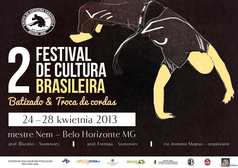 Festival de Cultura Brasileira  Foto: Festival de Cultura Brasileira