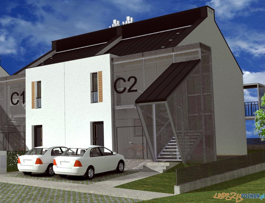 Wizualizacja osiedla domów pasywnych  Foto: BUILDgreen Design
