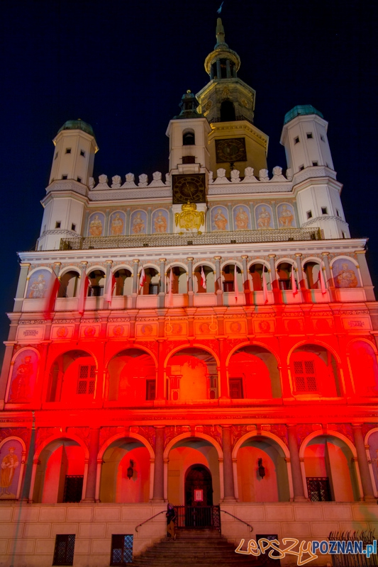 Dzień Flagi Rzeczypospolitej Polskiej  Foto: lepszyPOZNAN.pl / Piotr Rychter