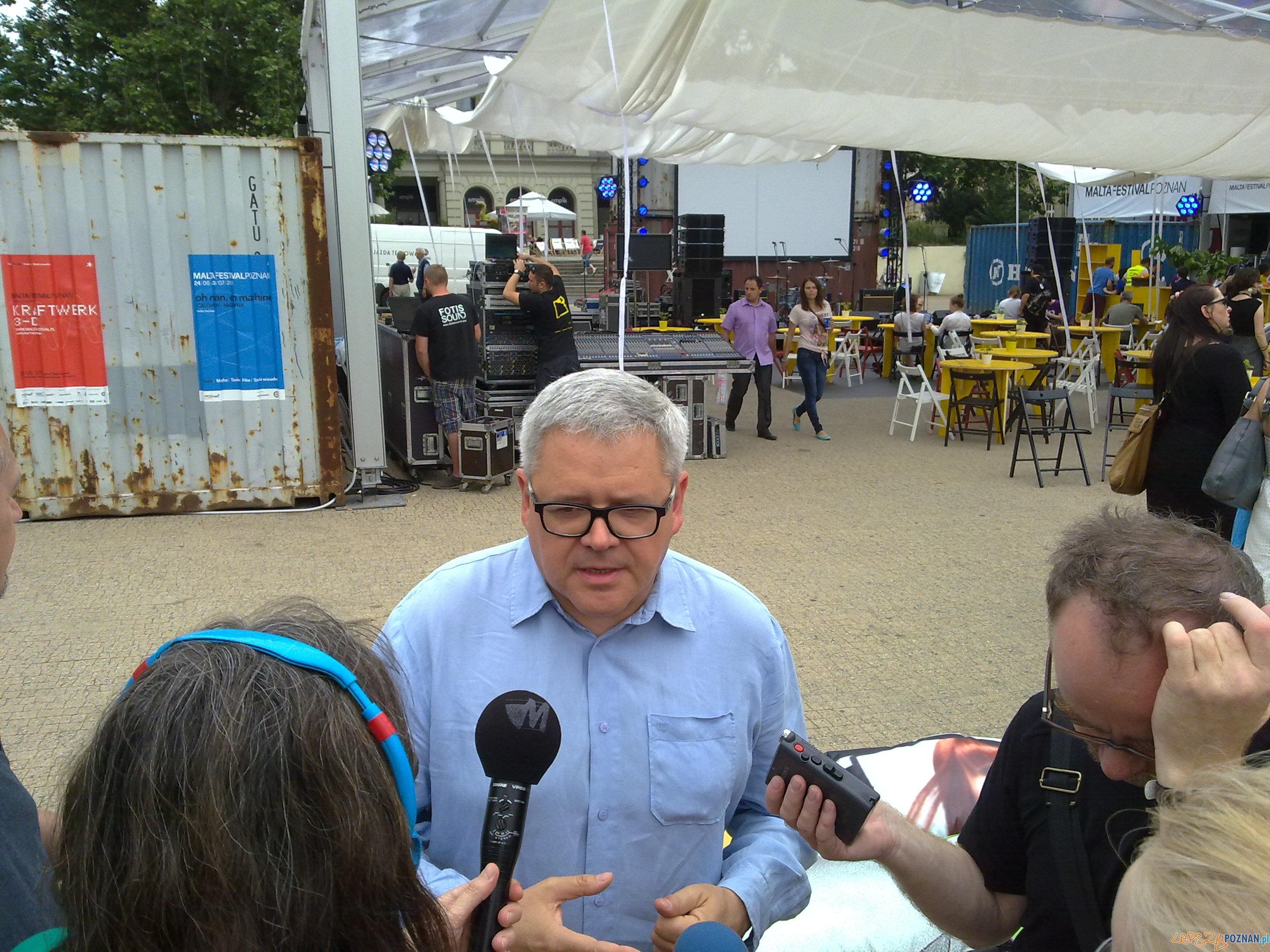 Michał Merczyński o Generatorze Malta  Foto: TD
