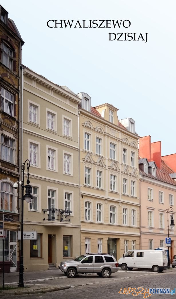 Wyremontowane kamienice przy ulicy Chwaliszewo  Foto: Inwestycje Wielkopolski