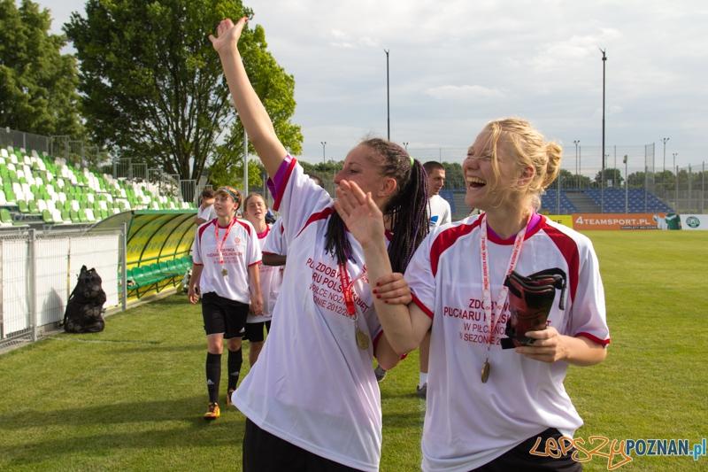Zdobywca Pucharu Polski w piłce nożnej kobiet w sezonie 2012/2013 Medyk Konin  Foto: lepszyPOZNAN.pl / Piotr Rychter