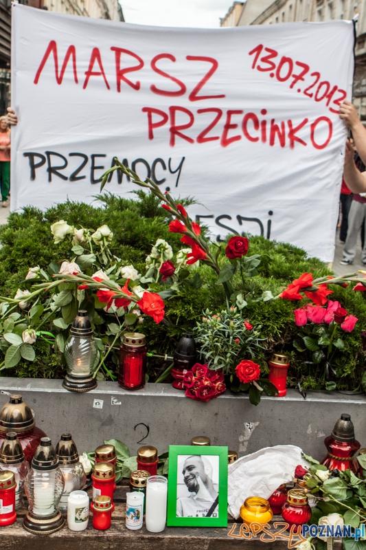 Pamięci Bartka - Marsz Milczenia - Poznań 13.07.2013 r.  Foto: LepszyPOZNAN.pl / Paweł Rychter