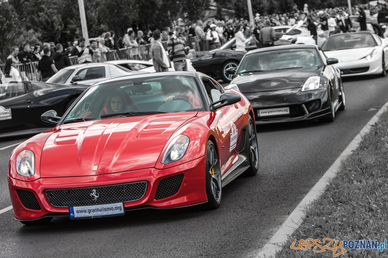 Gran Turismo Polonia 2013 na ulicy Hlonda - Poznań 30.06.2013 r.  Foto: LepszyPOZNAN.pl / Paweł Rychter