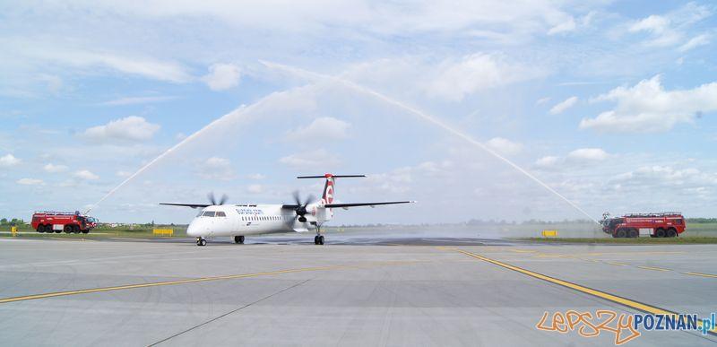 Nowy samolot na Lawicy  Foto: PL Ławica