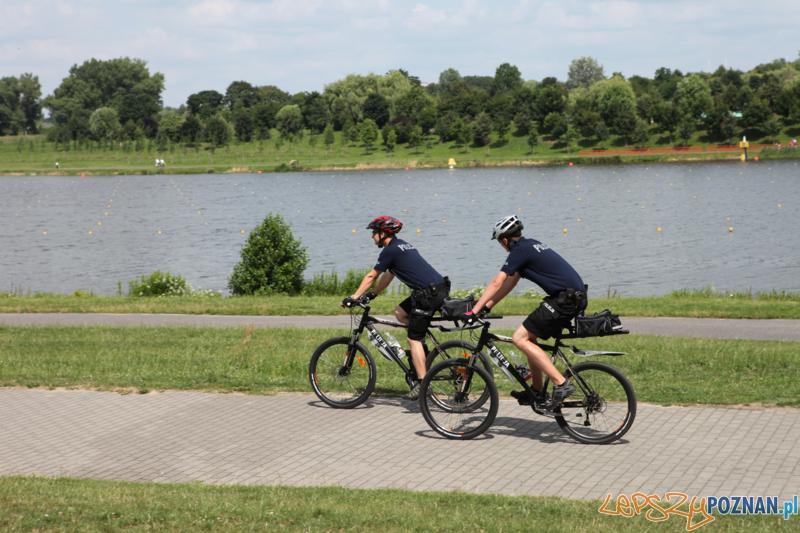 Policjanci na rowerach (3)  Foto: Policja w Poznaniu