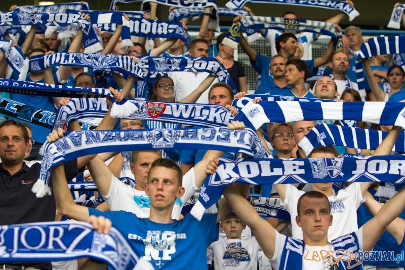 2. kolejka T-Mobile Ekstraklasy Lech Poznań - Cracovia Kraków. Inea Stadion 27.07.2013 r. (kibice na Inea Stadion)  Foto: lepszyPOZNAN.pl / Piotr Rychter