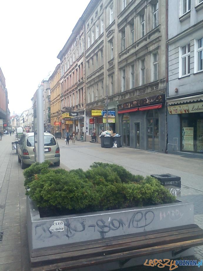 Taka była zieleń na Półwiejskiej  Foto: ZDM