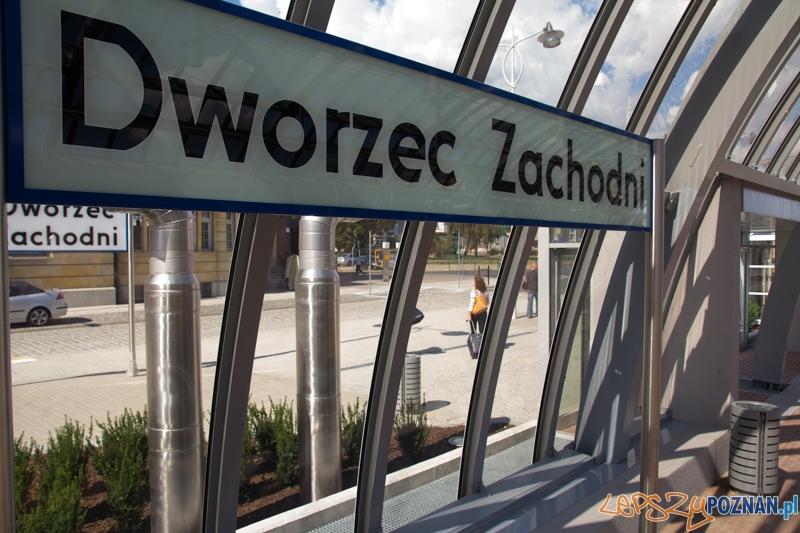 Przejazd teczniczny nowootwartą trasą - Nowy Dworzec Zachodni  Foto: lepszyPOZNAN.pl / Piotr Rychter
