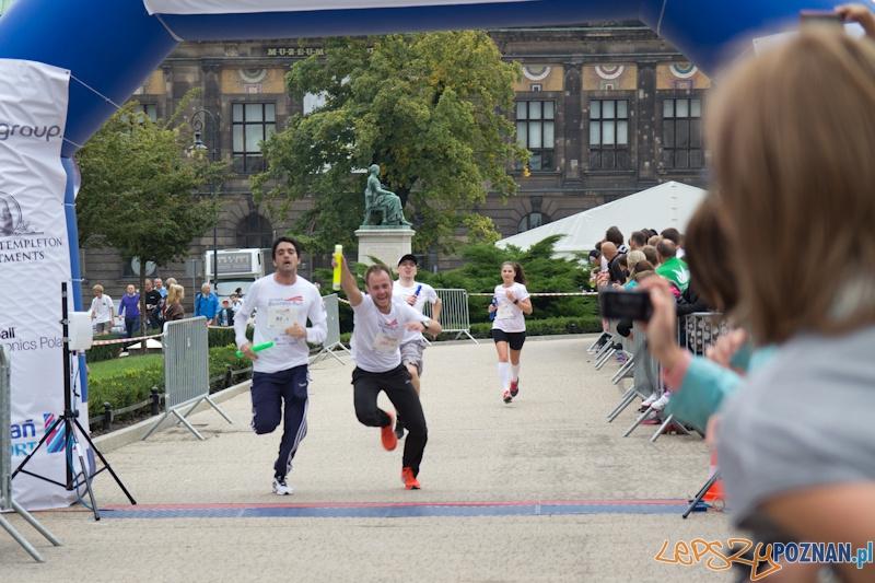 Poznań Business Run - 15.09.2013 r.  Foto: (c) Anna Bernard