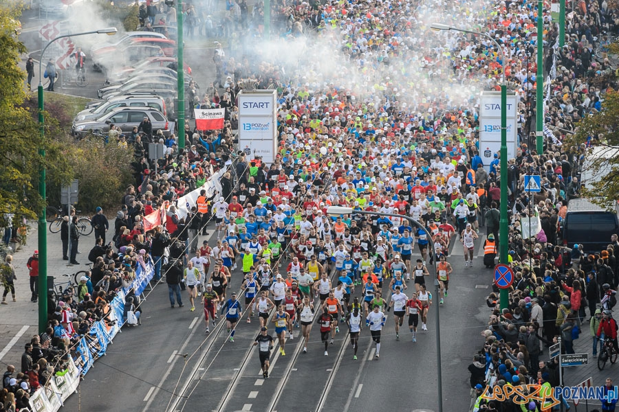 Wystartował Maraton  Foto: Jakub Kaczmarczyk