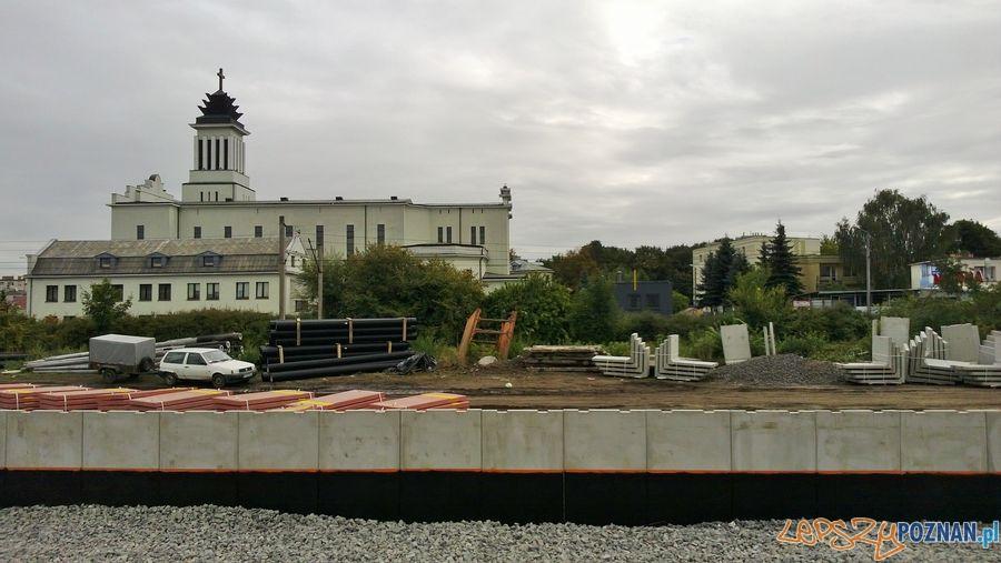 Zamknięty przejazd kolejowy na Dębcu (12)  Foto: TD
