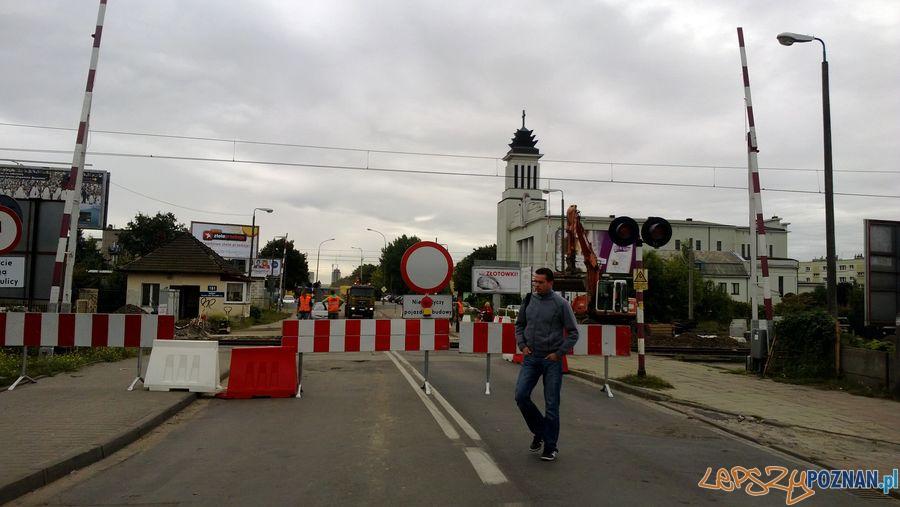 Zamknięty przejazd kolejowy na Dębcu (9)  Foto: TD