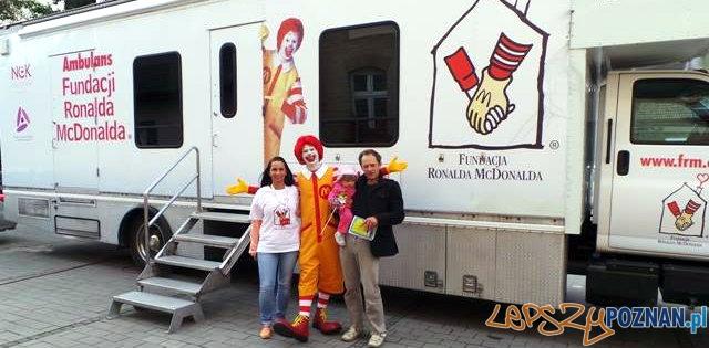 Ambulans Fundacji Ronalda McDonalda  Foto: Fundacja Ronalda McDonalda