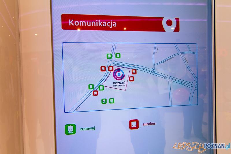 Poznań City Center - nie wiedziałem, że tędy jeździ komunkacja, ale jaka ?  Foto: lepszyPOZNAN.pl / Piotr Rychter