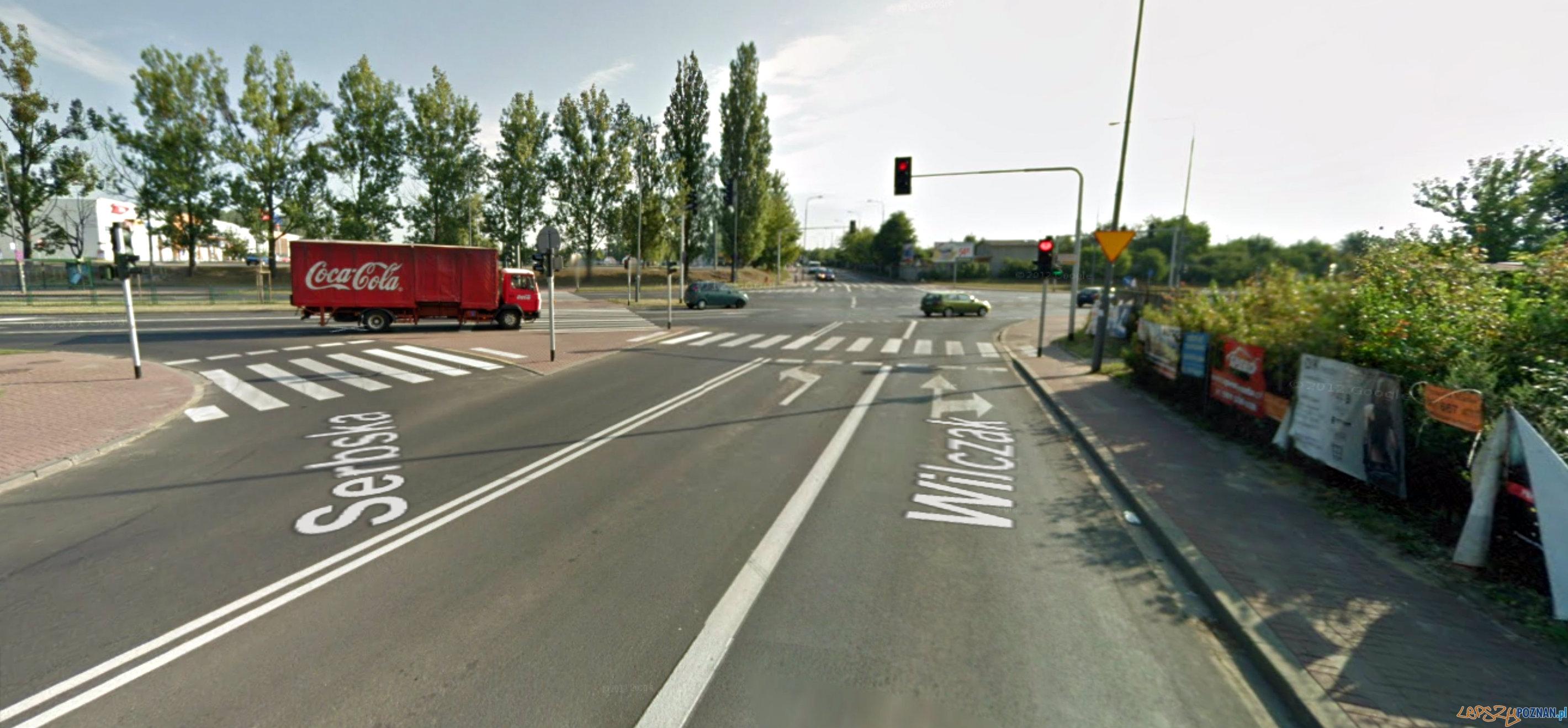 ul. Wilczak  Foto: Google Maps