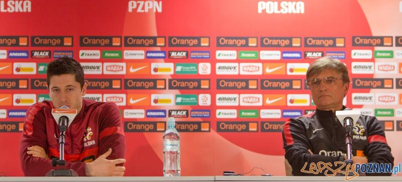 Trening Reprezentacji Polski przed towarzyskim meczem Polska - Irlandia  Foto: lepszyPOZNAN.pl/  Piotr Rychter
