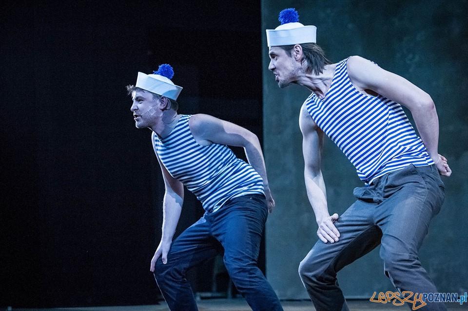 Mr Baranczak w Teatrze Nowym - Mateusz Ławrymowicz i Radoslaw Elis  Foto: Bartłomiej Jan Sowa