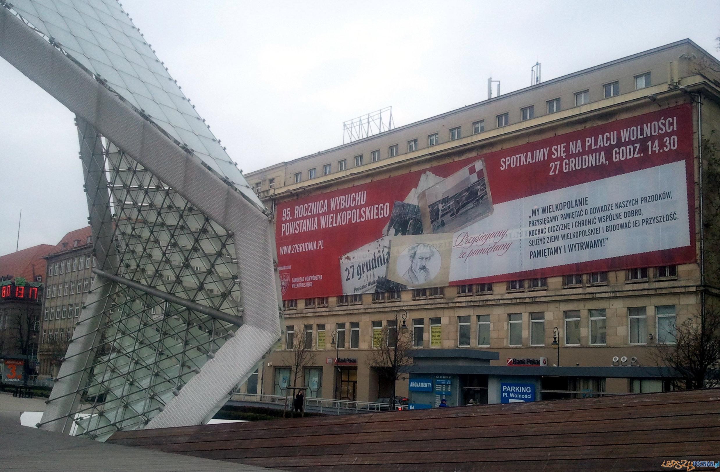 95 rocznica wybuchu Powstania Wielkopolskiego  Foto: lepszyPOZNAN.pl / tab