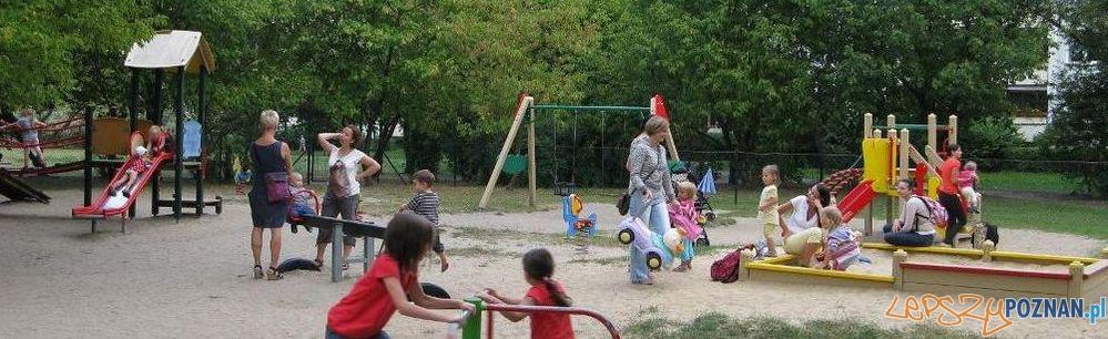 Park na osiedlu Czecha  Foto: Rada Osiedla Chartowo