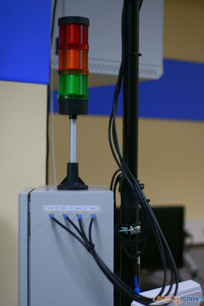 Laboratorium Technik Logistyk. RFID.  Foto: Przemysław Kozakiewicz