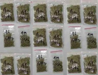 nartkotyki marihuana  Foto: Komenda Miejska Policji
