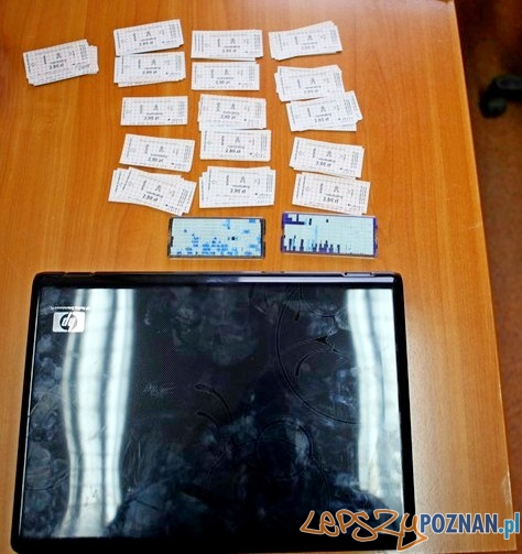 Skradziony laptop  Foto: KM Policji w Poznaniu