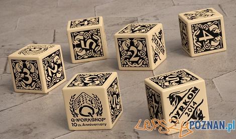 Kostki - prezent dla gości Pyrkonu  Foto: