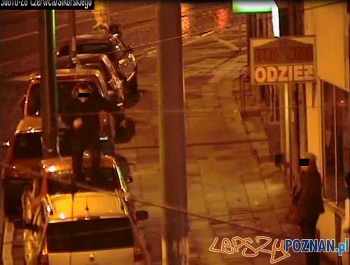 Dewastacja aut na Wildzie  Foto: Straż Miejska