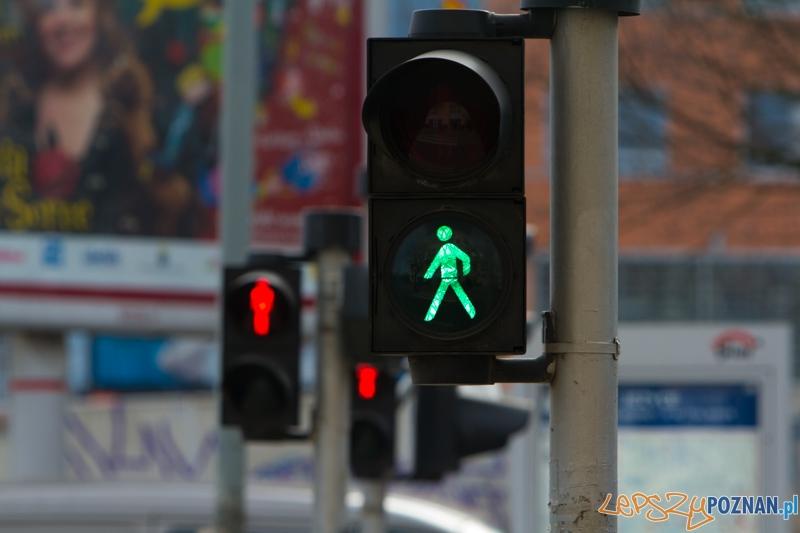 sygnalizacja, przejście dla pieszych  Foto: lepszyPOZNAN.pl / Piotr Rychter