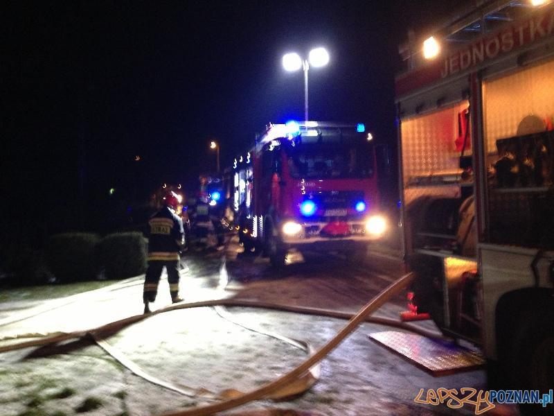 Pożar domu w Runowie  Foto: JRG6