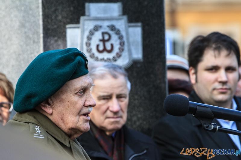 Dzień Pamięci Żołnierzy Wyklętych - Poznań 01.03.2014 r.  Foto: LepszyPOZNAN.pl / Paweł Rychter