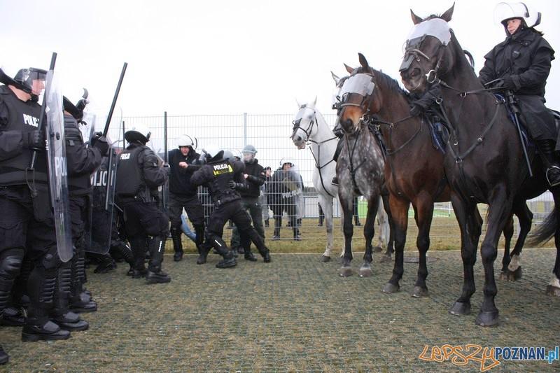 Policyjne manewry na Stadionie 8  Foto: materiały policji